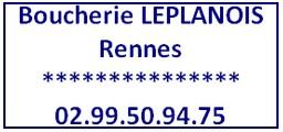 90 Boucherie Leplanois