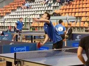 Christophe JEGOUIC aux championnats de Bretagne 2015.