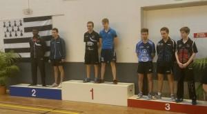 paire JUAN/JEGOUIC, 3ème place en Juniors aux championnats de Bretagne 2015.