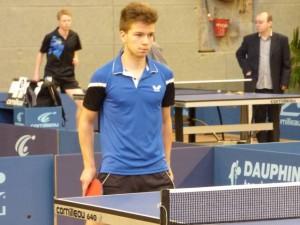Valentin JUAN aux championnats de Bretagne 2015.