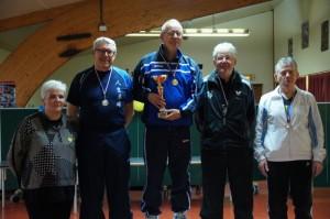 Jean-Paul ROPARS champion V3 (05-06/12/2015 à Brécé)