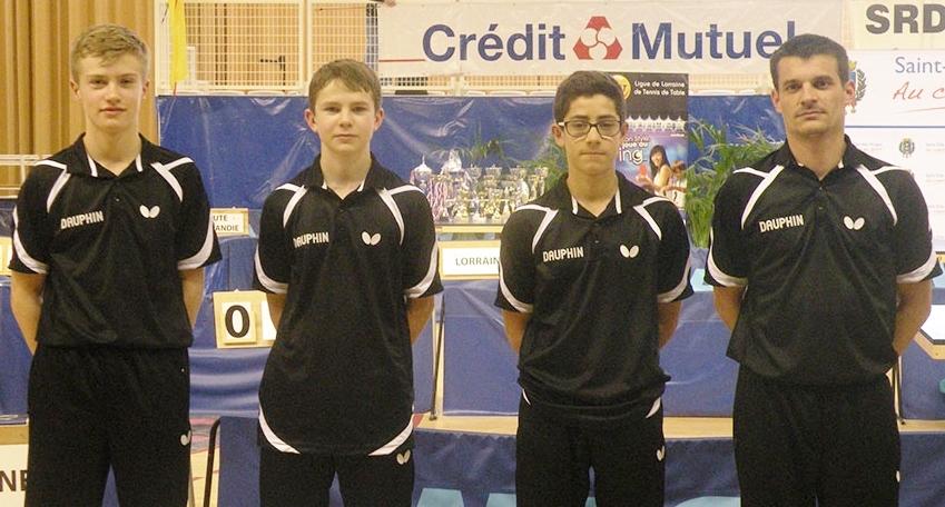Équipe de Bretagne cadets.